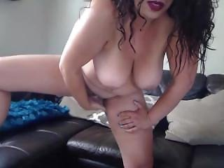 Busty Cougar Latina Scarlett Rio With Belly Piercing