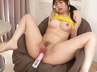 Hina Maeda Loves Toys Down Her Holes In Such Steamy Solo Sce