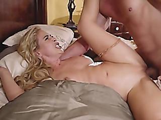 Blonde Cougar Cherie Deville Takes Long Boner
