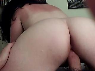 Reverse Cowgirl With Big Chubby Ass Homemade Amateur