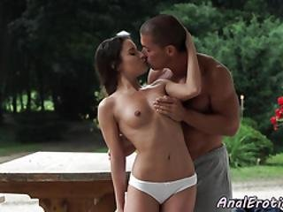 Stunning Cutie Banged In Ass Outdoors