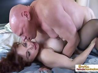 Domination, Femdom, House, Housewife, Mature, Milf, Old, Redhead, Wife