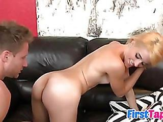 Brandy Jaymes In Her First Sex Tape