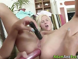 Anally Toying Les Teens