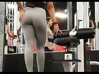Candid Amazing Big Leggings Ass