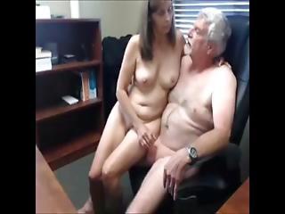 amatør, boss, handjob, matur, rå, sekratær, webcam