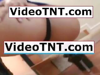 [ Young ] - Young Teen Schoolgirl Hotel Tiny Blue Cotton Panties