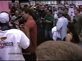 Exxxotica Miami 2007 Leona Gets Body Painted