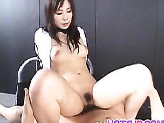 Riho Matsuoka Gets Doggy And Cumshot After