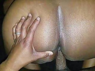Ms. Red Bubble Bouncing On The Dick