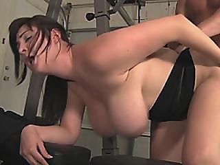 Brunette Hottie Paid To Bang Friend