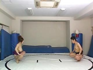 Topless Female Sumo