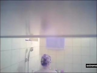 au bain, caméra cachée, mature, maman
