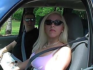 Spanish Tourist Sucks Off Cops While Boyfriend Waits In Car