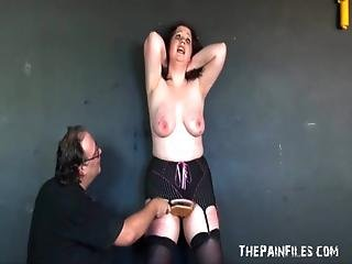 Bbw Slaveslut Rosies Breast Whipping To Tears And Extreme Bdsm