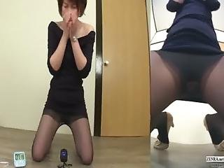 Fetish, Japanese, Old, Pale, Panties, Pantyhose, Pee, Skirt, Squirt, Upskirt, Weird