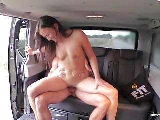 Fuckedintraffic - Czech Babe Gets Banged And Cum Covered In Hot Car Sex