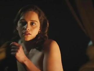 Emilia Clarke Toples In Movie