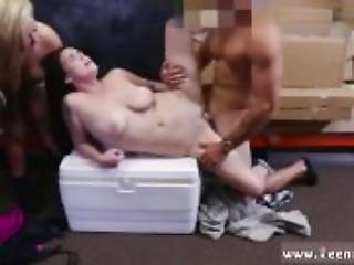 Sexy brunette bus first time Lesbians Pawn