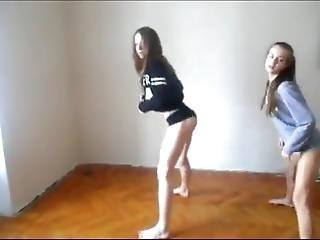 Two Sexy Tiny Cute Teens Twerking And Dancing