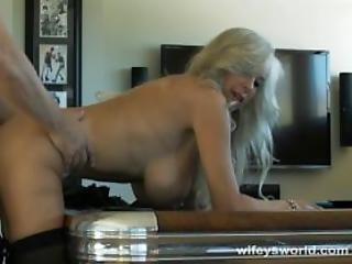 Busty Sex Tutor Fucks For Cock Training