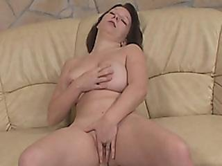 Chubby Teen Fucked On Couch By Handicap Doggy Style