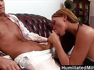 Humiliatedmilfs  Krisztina Makes Her Ass Gape For A Massive Dick