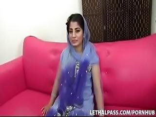 Indian Girl Enjoy