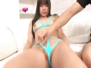 Japanese Rubber Blow Job Fetish