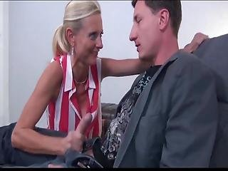 Fantastic Mature Milf Loves Her New Young Business Partner