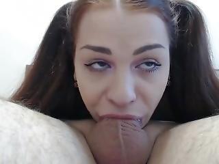 Extreme Deepthroat Blowjob