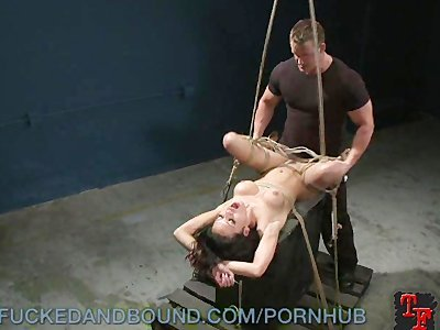 Fucking A Tied Up Tramp
