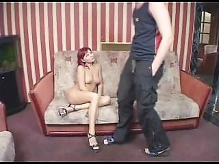Donatella - Hot Drunken Russian Redhead Chick Frced To Prostitute - 2