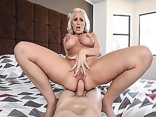 Alena Croft Riding Her Milf Anal On Top Of Stepson