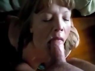 58 Year Old Grandmother Of 5 Loves To Have Her Face Fucked