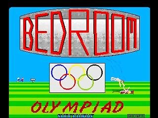 [amiga Game] Bedroom Olympiad (1988) By Shockwave