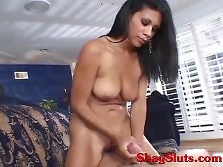 Latino Teen Talks Dirty For Cum Over Her Big Tits