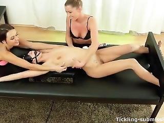 Sexy Lesbian Tickling Torture