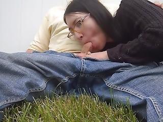 Teen Sucks & Fucks Big Dick Old Man In Public Park Lizlovejoy.manyvids.com