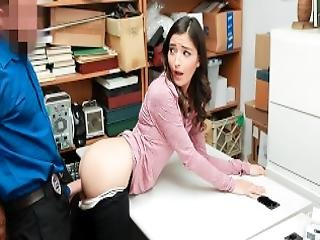 Shoplyfter Security Guard Catches Hot Teen