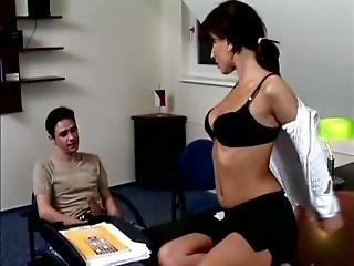 Sexy Teacher Fucked By Student