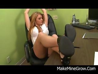 Teen Blonde Sophie Dee Kneel And Blow