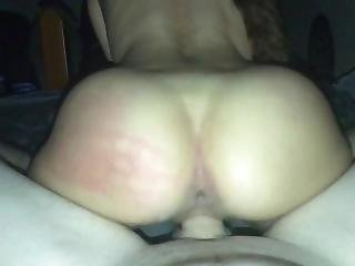 My Gf Bouncing Her Big Ass On My Cock