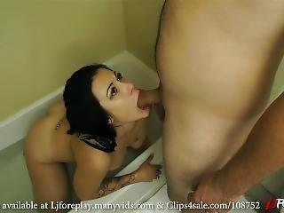Bathtub Blowjob - Ljforeplay