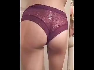Ass In Lingerie