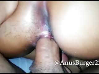 Big Ass Mexican Teen Cums Hard While Riding Asshole Closeup