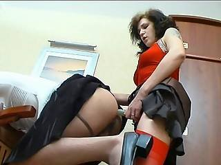 Millie Frank Dong Pussyclothed Sex Clip