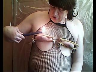 Hot Wax On My Nipples