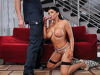 Big Tits Romi Rain Gets Banged By Officer Jean Val Jeans Huge Massive Cock