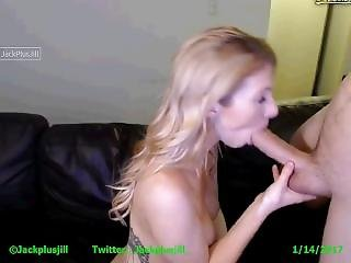 I Love To Stroke His Huge Cock